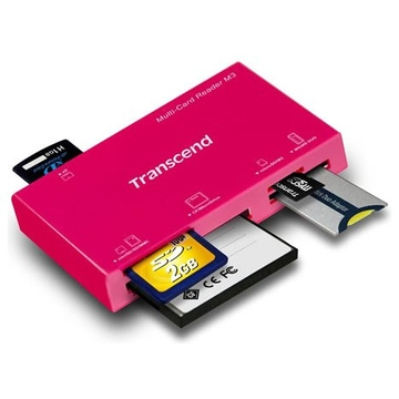Card reader Transcend M3 Red (all-in-1)
