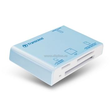 Card reader Transcend P8 Blue (all-in-1)