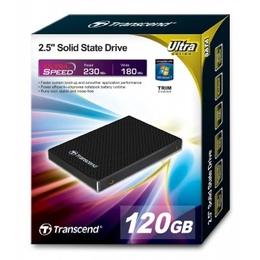 """внешний SSD Transcend 120GB (2.5"""", SATA, MLC, DRAM)"""