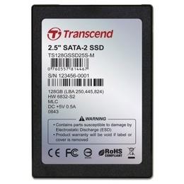 """внешний SSD Transcend 128GB (2.5"""", SATA, MLC)"""