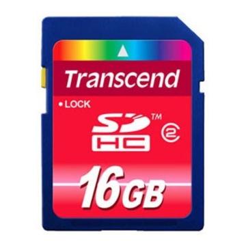 SDHC 16Gb Transcend Класс 2