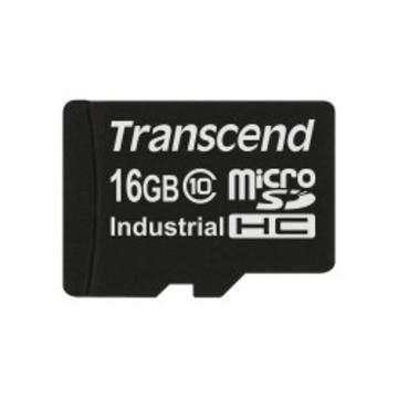MicroSDHC 16Гб Transcend Industrial Класс 10 (без адаптера)
