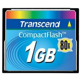 Compact Flash 01Гб Transcend 80X