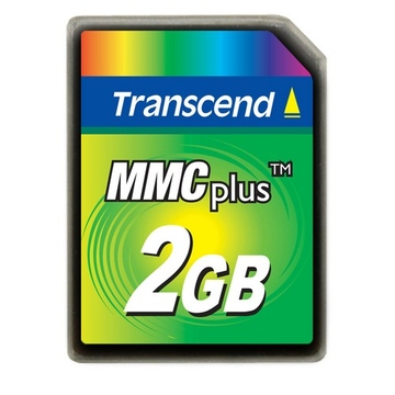 MMC Plus 02Гб Transcend