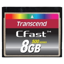 Compact Flash 08Гб Transcend Ultra Speed 500X