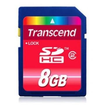 SDHC 08Gb Transcend Класс 2