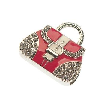 Оригинальная подарочная флешка Present BAG01 16GB Red White (флешка-сумочка)