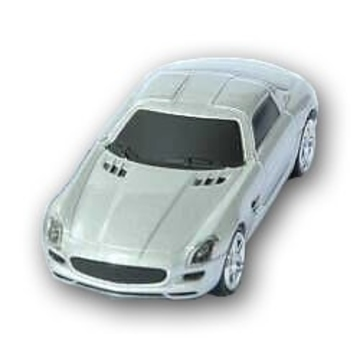 Оригинальная подарочная флешка Present CAR18 08GB Grey (Спортивный автомобиль, без блистера)
