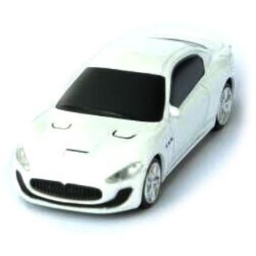 Оригинальная подарочная флешка Present CAR19 08GB White (Спортивный автомобиль, без блистера)