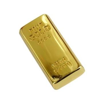 Оригинальная подарочная флешка Present GLD04 08GB (слиток золота, мини)