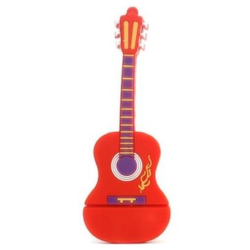 Оригинальная подарочная флешка Present GTR10 64GB Red (гитара, без блистера)