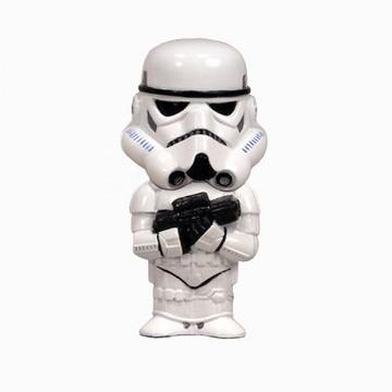 """Оригинальная подарочная флешка Present MEN47 64GB White (Штурмовик из фильма """"Звёздные войны"""", без блистера)"""