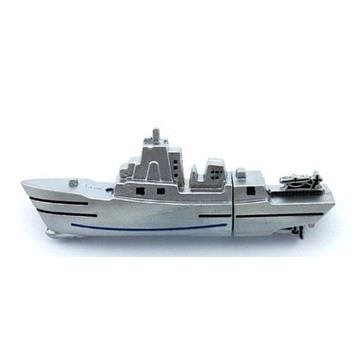 Оригинальная подарочная флешка Present ORIG153 128GB Silver (корабль)