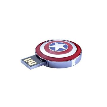 Оригинальная подарочная флешка Present ORIG178 08GB (щит Капитана Америка, без блистера)