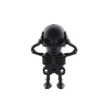 Оригинальная подарочная флешка Present SKL09 16GB (скелет со съемным черепом)