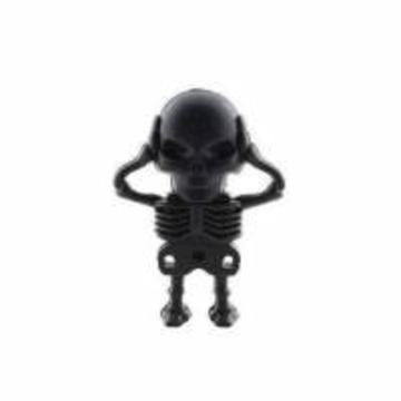 Оригинальная подарочная флешка Present SKL09 4GB (скелет со съемным черепом)