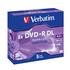 DVD+R  Verbatim Jewel Case 1шт