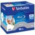 Blu-Ray BD-R Verbatim Jewel Case 10шт