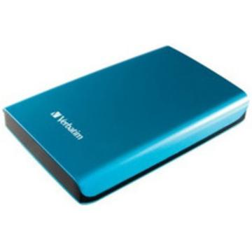 "Портативный HDD 1 TB Verbatim Store""n""Go Sky Blue (2.5"""", USB3.0, 53036)"