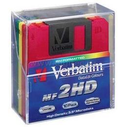 """Дискеты Verbatim 2HD 10шт (3.5"""", картон, DL)"""