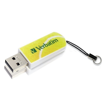 Накопитель USB2.0 Verbatim Mini Sport Edition 8GB Теннис