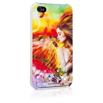 Футляр White Diamonds Angel Color (для iPhone 4/4S, пластик)