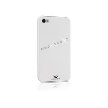 Чехол White Diamonds Sash White (для iPhone 4/4S, пластик)