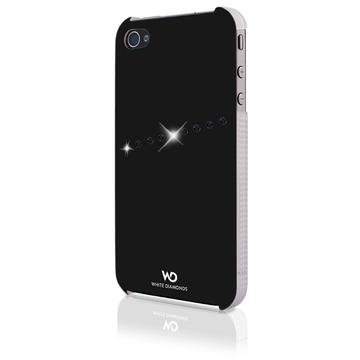 Футляр White Diamonds Sash Black (для iPhone 4/4S, пластик)