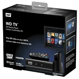 Медиаплеер Western Digital TV HD  (HDMI, 2xUSB, без HDD)