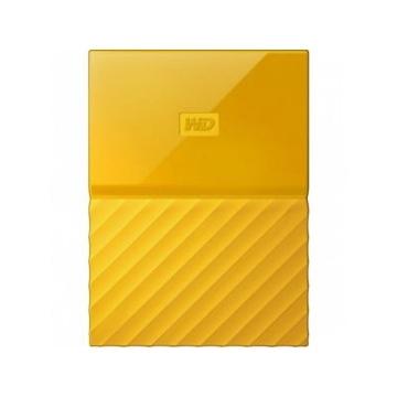 """Внешний жесткий диск 4 тб Western Digital My Passport EXT Yellow (2.5"""", USB2.0/3.0)"""