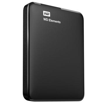 "Внешний жесткий диск 1 TB Western Digital Elements Portable Black (2.5"", USB3.0)"