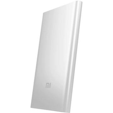 Внешний аккумулятор Xiaomi MI Powerbank Slim Silver (microUSB/USB-выход, 16000mAh)